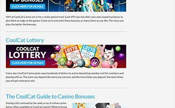 Screenshot 1 Cool Cat Casino