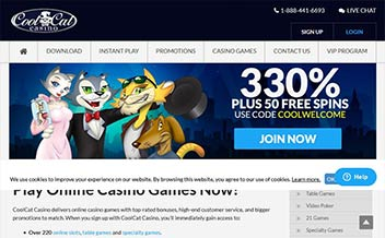 Screenshot 2 Cool Cat Casino
