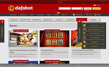 Screenshot 3 Dafabet Casino