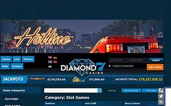Screenshot 2 Diamond 7 Casino