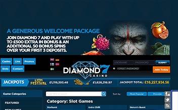 Screenshot 3 Diamond 7 Casino