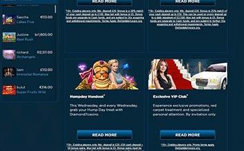 Screenshot 1 Diamond 7 Casino