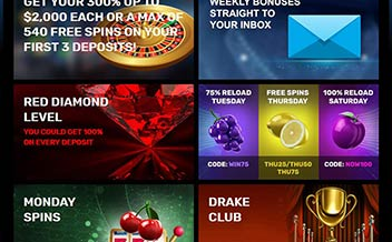 Screenshot 1 Drake Casino