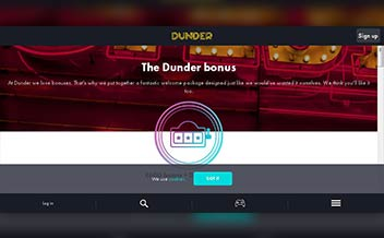 Screenshot 2 Dunder Casino