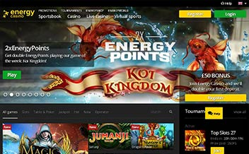 Screenshot 3 Energy Casino