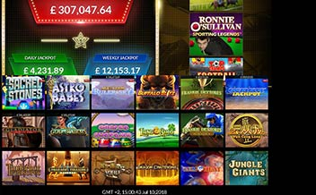 Screenshot 1 EuroGrand Casino