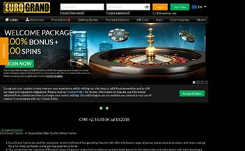 Screenshot 2 EuroGrand Casino