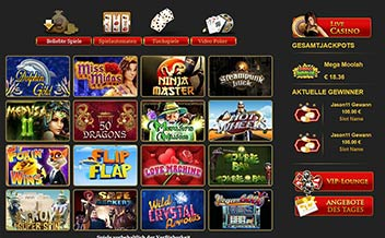 Screenshot 4 EuroKing Casino