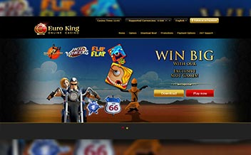 Screenshot 1 EuroKing Casino