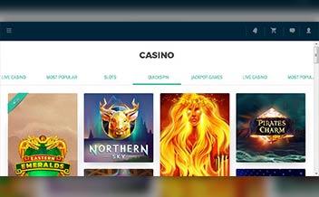 Screenshot 1 EuroLotto Casino