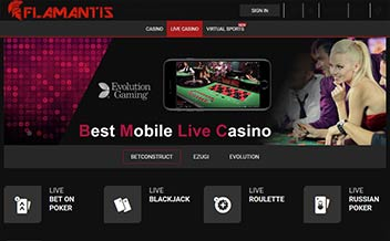 Screenshot 4 Flamantis Casino