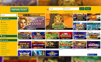 Screenshot 1 Fortune Frenzy Casino