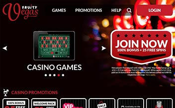 Screenshot 1 Fruity Vegas Casino