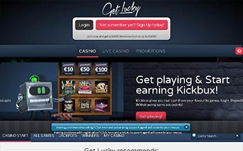 Screenshot 4 Get Lucky Casino