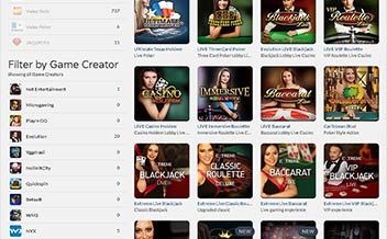 Screenshot 1 Get Lucky Casino