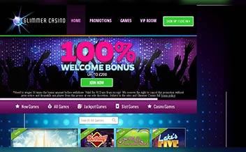 Screenshot 2 Glimmer Casino