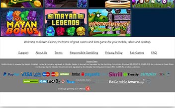 Screenshot 2 Gowin Casino