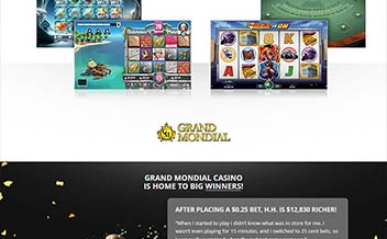 Screenshot 4 Grand Mondial Casino