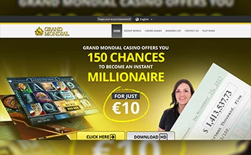 Screenshot 1 Grand Mondial Casino