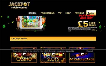 Screenshot 3 Jackpot Mobile Casino
