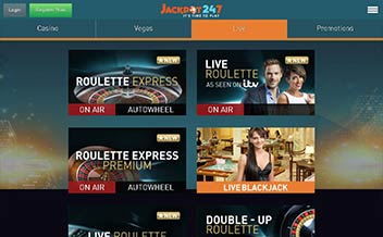 Screenshot 3 Jackpot247 Casino