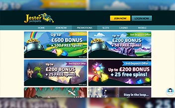 Screenshot 1 Jester Jackpots Casino
