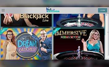 Screenshot 1 Karamba Casino