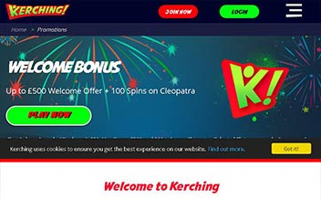 Screenshot 2 Kerching Casino