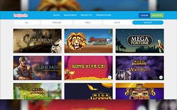 Screenshot 3 LadyLucks Casino