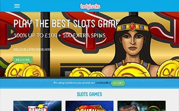 Screenshot 1 LadyLucks Casino