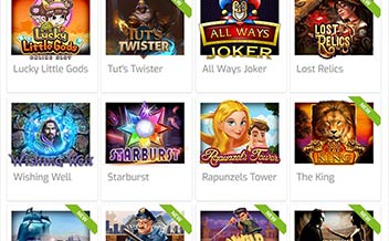 Screenshot 1 Lapalingo Casino