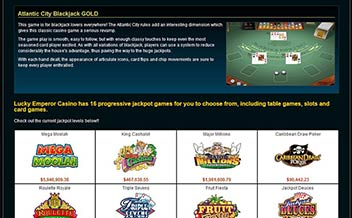 Screenshot 3 Lucky Emperor Casino