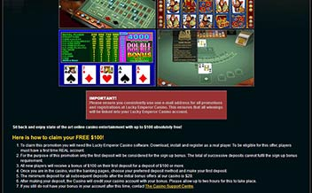 Screenshot 1 Lucky Emperor Casino