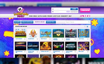 Screenshot 2 Lucky Pants Bingo Casino