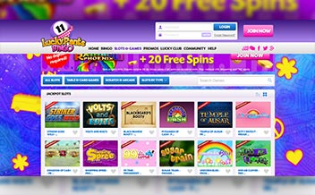 Screenshot 1 Lucky Pants Bingo Casino