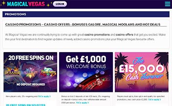 Screenshot 4 Magical Vegas Casino