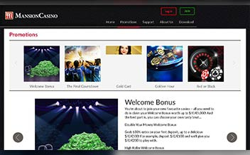 Screenshot 1 Mansion Casino