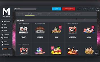 Screenshot 2 Matchbook Casino