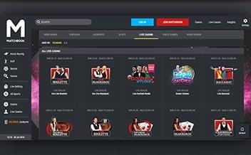 Screenshot 4 Matchbook Casino