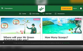 Screenshot 3 Mr Green Casino