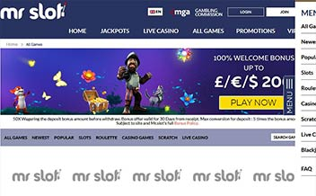 Screenshot 4 Mr Slot Casino
