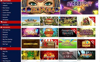 Screenshot 1 mRiches Casino