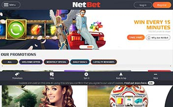 Screenshot 3 NetBet Casino