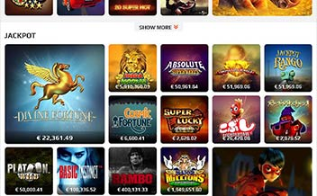 Screenshot 1 NetBet Casino