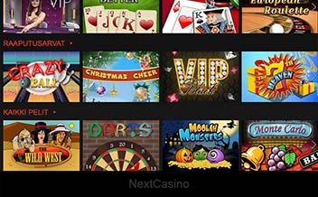 Screenshot 1 NextCasino