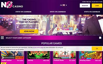 Screenshot 2 No Bonus Casino
