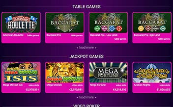 Screenshot 1 No Bonus Casino