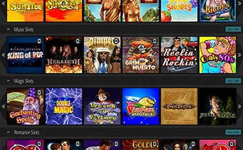 Screenshot 1 Novibet Casino