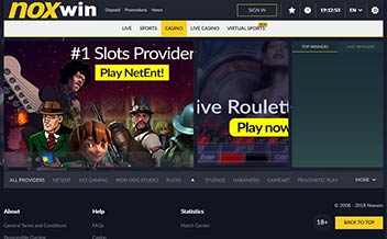 Screenshot 4 Noxwin Casino