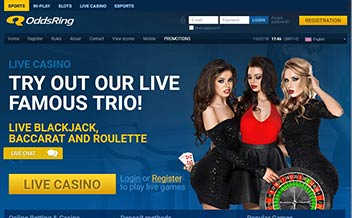 Screenshot 2 OddsRing Casino